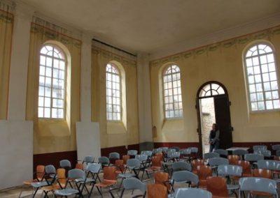 Schäden in der Synagoge