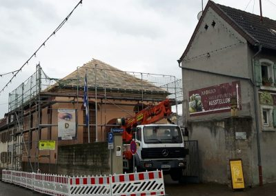 Renovierung macht Fortschritte